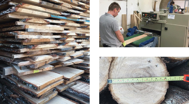 ドナオーク 職人の誇りをかけて自慢の木材を最高の状態に②